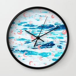 Pinkish Adventure Wall Clock