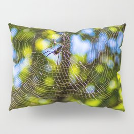 Spider In A Web Pillow Sham