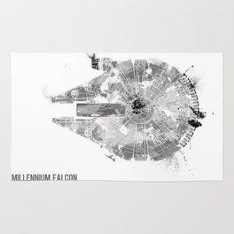 Star Wars Vehicle Millennium Falcon Rug