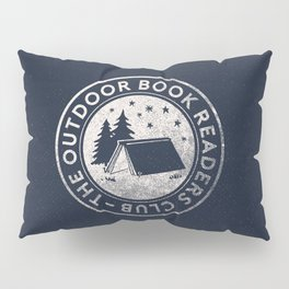 Outdoor Book Readers Club badge Pillow Sham