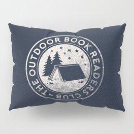 Outdoor Book Readers Club badge Pillow Sham