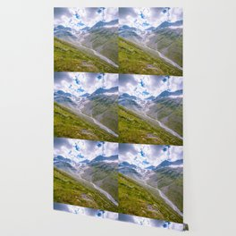 Summer at the glacier Wallpaper