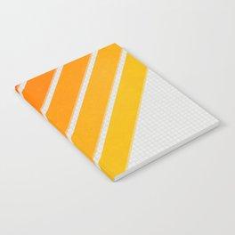 Orange Color Drift Notebook