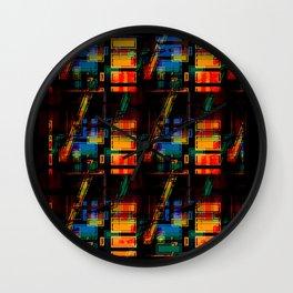 Apartment Block Wall Clock