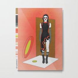 contemplation (colorful version) Metal Print
