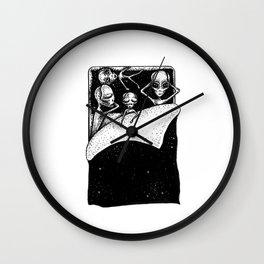 Lazy Sunday in Galaxy Wall Clock