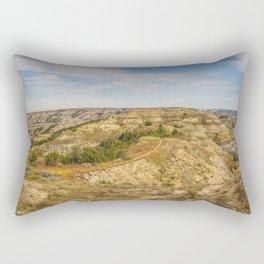 Badlands, Theodore Roosevelt NP, ND 20 Rectangular Pillow