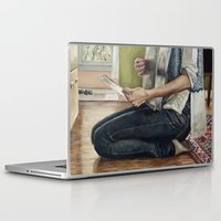 record Laptop & iPad Skins featuring Record Selection by Heather Buchanan