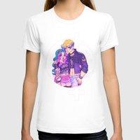 pastel goth T-shirts featuring Pastel Goth Haruka & Michiru by Gunkiss