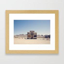 Rhyolite Mercantile  Framed Art Print