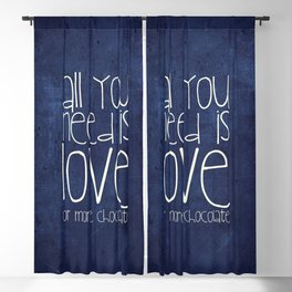 CHOCOLATE LOVE Blackout Curtain