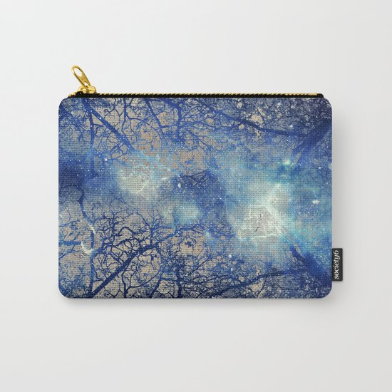 Winter Wood Carry-All Pouch