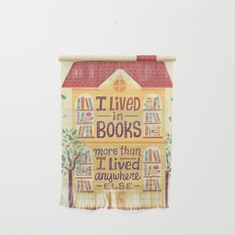 Lived in books Wall Hanging
