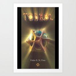 Todrol (book cover 01) Art Print