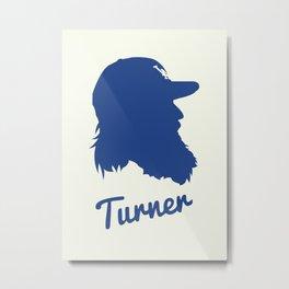 Justin Turner Metal Print