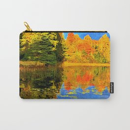 Lone Tree Lake in Northwoods, WI Carry-All Pouch