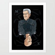 King of the Mutants (M) Art Print