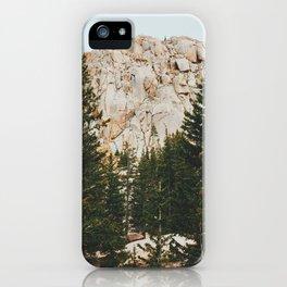 Rocky Mountain Grandeur iPhone Case