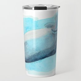 Somersault Baby Hippo - Underwater Fantasia Ballet Travel Mug