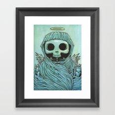 Strangely  Familiar  Framed Art Print