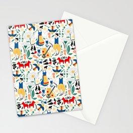 Swedish Mid Summer Fest Midsommar Stationery Cards
