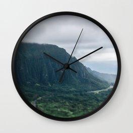 Kaneohe Bay Wall Clock