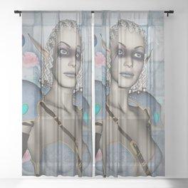 Beautiful fairy Sheer Curtain