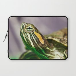 Small red-ear turtle Laptop Sleeve