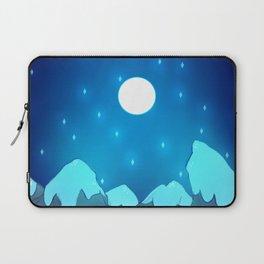 Mountains - Winter Night Variant Laptop Sleeve