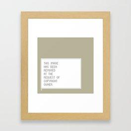 © Control v1.2 Framed Art Print
