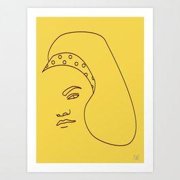 Eartha Art Print