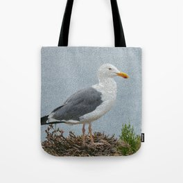 western gull - painting Tote Bag