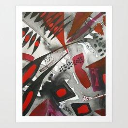Cruella de Vil Art Print