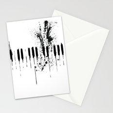 black & white  Stationery Cards