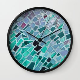 Energy Mosaic Wall Clock