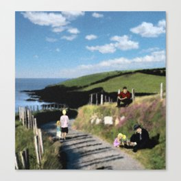 Michael Collins - The Road to Clonakilty Canvas Print