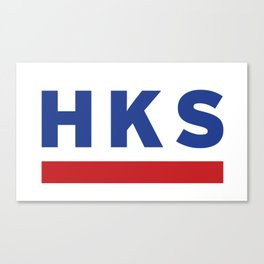 HKS Canvas Print