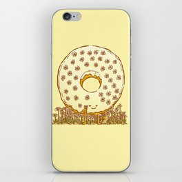 In Bloom Donut iPhone Skin