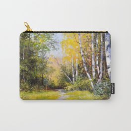 Birch Grove # 3 Carry-All Pouch