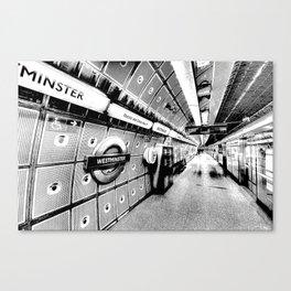 Going Underground Art Canvas Print