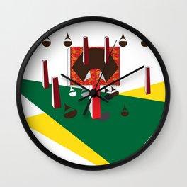 Machinery, No. 0002 Wall Clock
