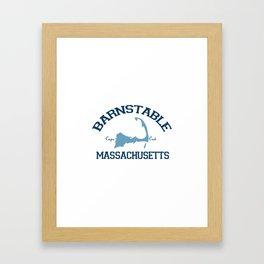 Barnstable Cape Cod Framed Art Print