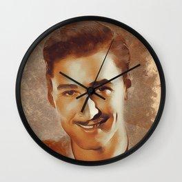Errol Flynn, Hollywood Legend Wall Clock