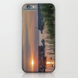 Lanes Cove Sunset 7-28-19 iPhone Case