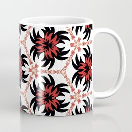Frantic from the Black & White & Red All Over Collection Coffee Mug