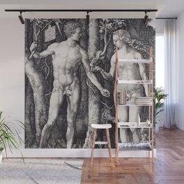 Adam and Eve by Albrecht Dürer Wall Mural