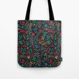 Tribe called pattern Tote Bag
