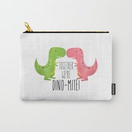 Together We're Dino-mite! Carry-All Pouch