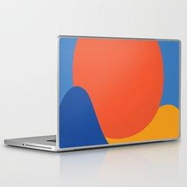 Mid Century Wall Art Black and White Mid Century Modern Art Print Retro Art Print Geometric Minimal Laptop & iPad Skin