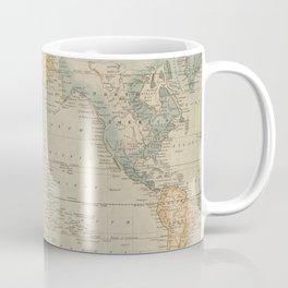 Vintage Map of The World (1823) Coffee Mug